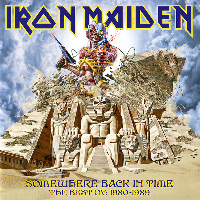 Iron Maiden Iron Maiden. Somewhere Back In Time. The Best Of 1980-1989 u2 the best of 1980 1990