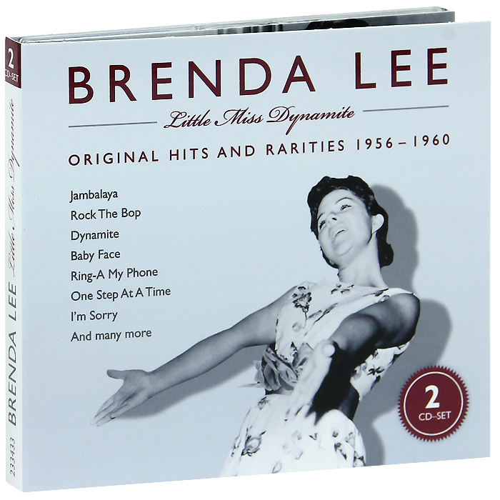 бренда ли brenda lee brenda that s all all alone am i Бренда Ли Brenda Lee. Little Miss Dynamite (2 CD)