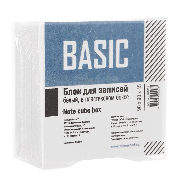 Блок для записей Basic, цвет: белый блок для записей тюмень 9 x 9 см 150 листов