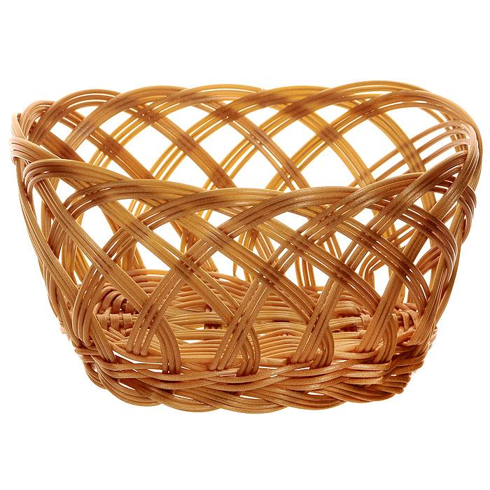 Корзинка плетеная Oriental Way Мульти, овальная, 20 см х 12 см корзинка для хлеба neo way мульти 25 19 9 см