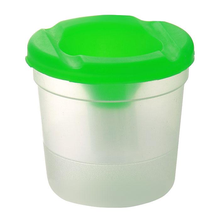 Стакан-непроливайка Луч цвет зеленый луч стакан непроливайка для рисования цвет оранжевый