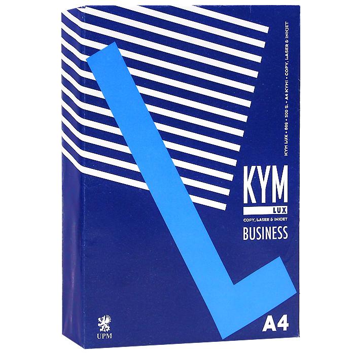 """Бумага офисная """"Kym Lux Business"""", 500 листов, А4"""