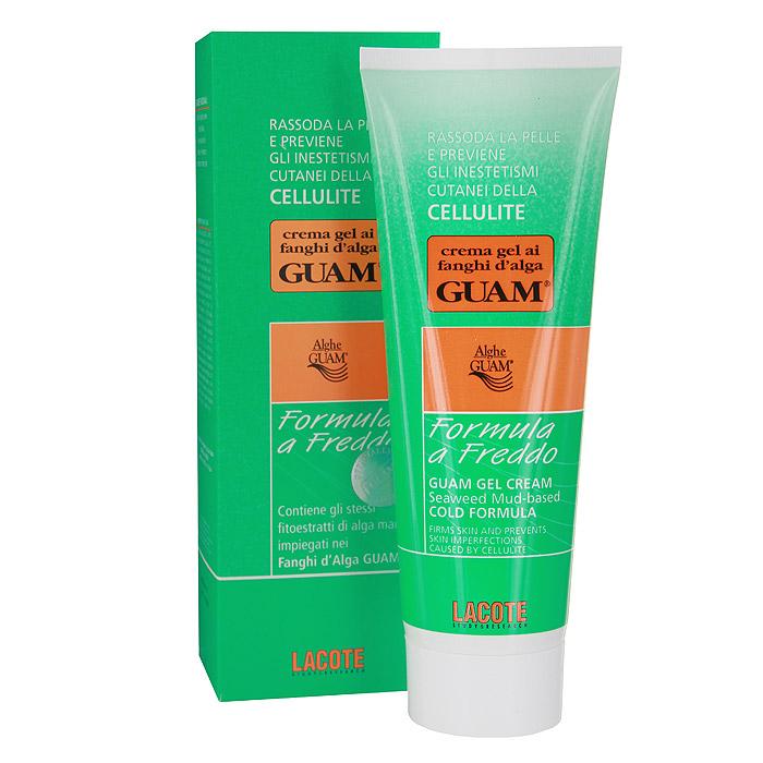 Гель-лифтинг для тела Guam Fanghi D`Alga, с охлаждающим эффектом, 250 мл аовк антицеллюлитное средство фитосалфетка для процедуры водорослевого обертывания 250 г