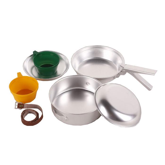Набор походной посуды KingCamp Backpacker 2, 7 предметов. KP4236