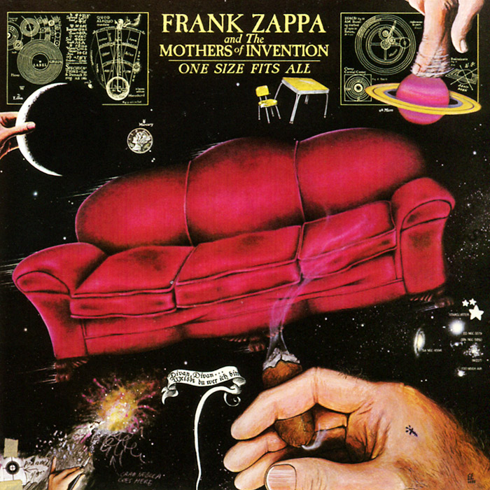 цена на Фрэнк Заппа,The Mothers Of Invention Frank Zappa And The Mothers Of Invention. One Size Fits All