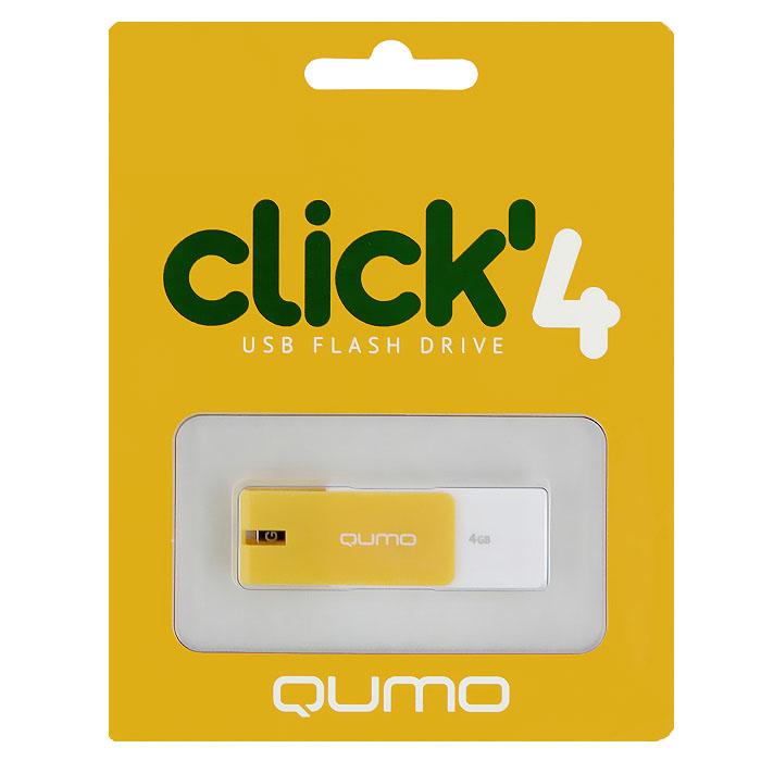 QUMO Click 4GB, Amber
