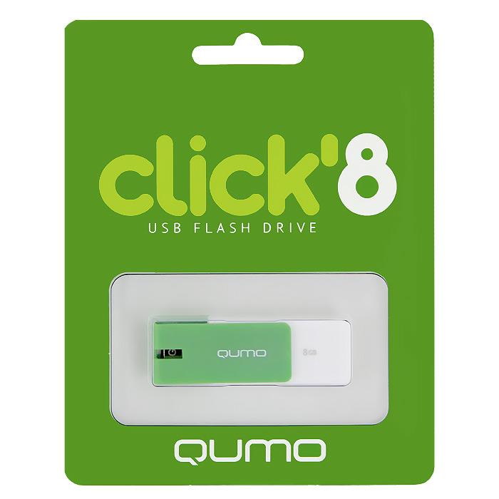 QUMO Click 8GB, Mint