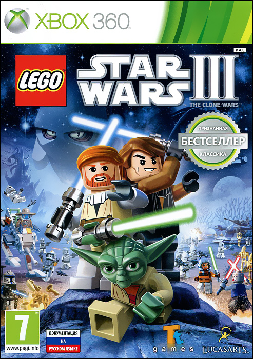 LEGO Star Wars III: The Clone Wars (Xbox 360) медиа lego star wars iii the clone wars classics