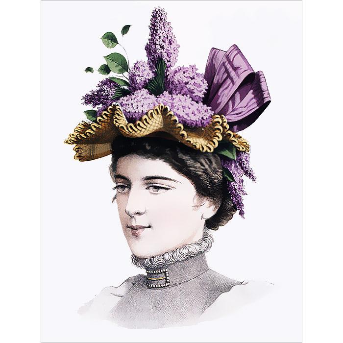 Книга Дамские шляпки. 1889-1897. Н. Зубова