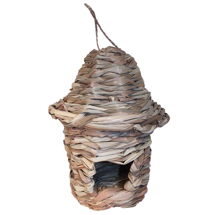 Гнездо-домик для птиц Гамма, с фигурной крышей гнездо для птиц triol d120х60мм