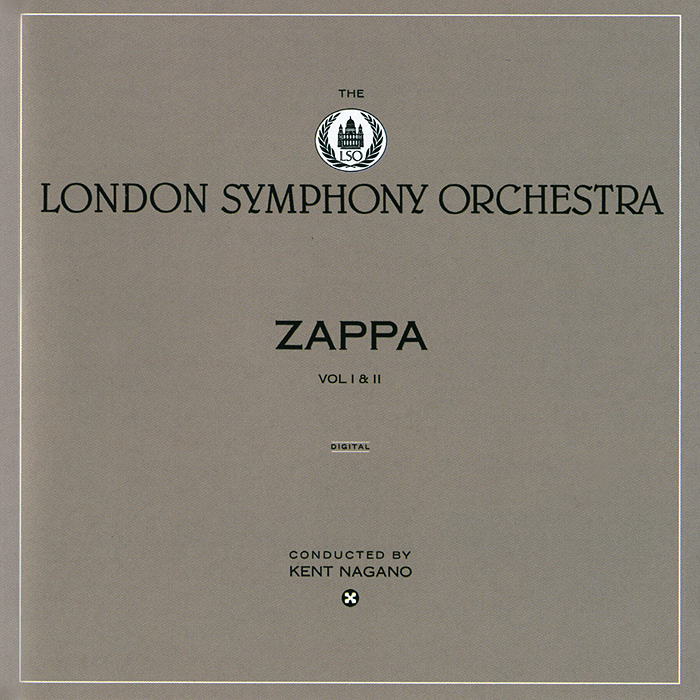 Фрэнк Заппа Frank Zappa. London Symphony Orchestra, Volume I & II (2 CD) cd led zeppelin ii deluxe edition