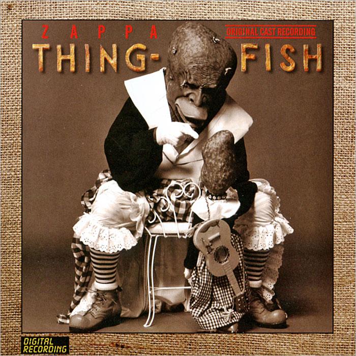лучшая цена Фрэнк Заппа Zappa. Thing-Fish (2 CD)