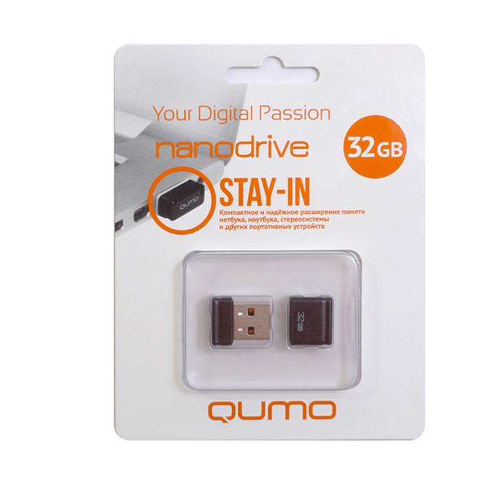 QUMO Nano 32GB, Black цена