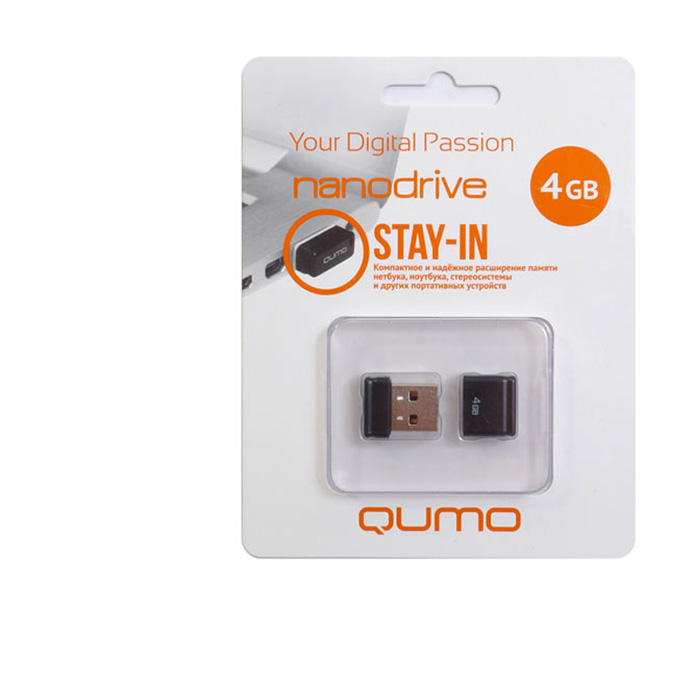 QUMO Nano 4GB, Black