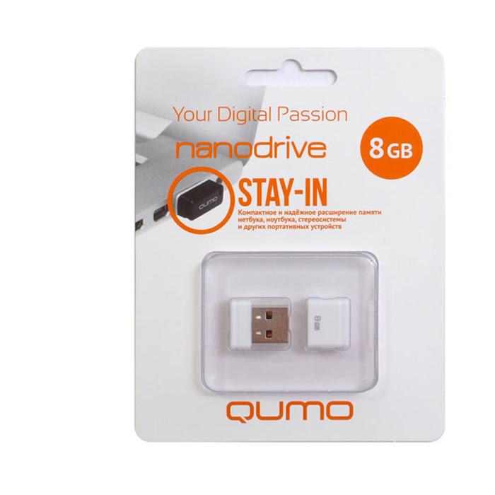QUMO Nano 8GB, White