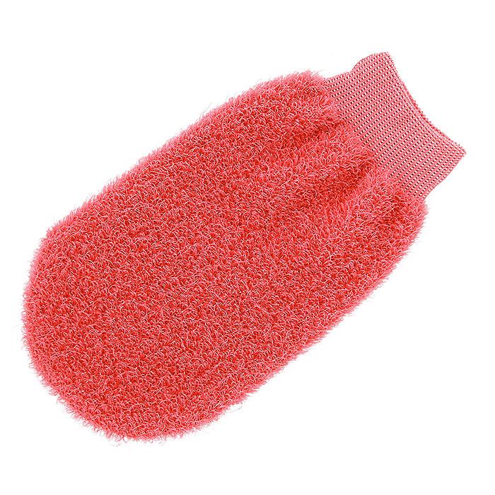 Мочалка-рукавица Riffi, жесткая, цвет в ассортименте мочалка рукавица riffi мягкая цвет бежевый
