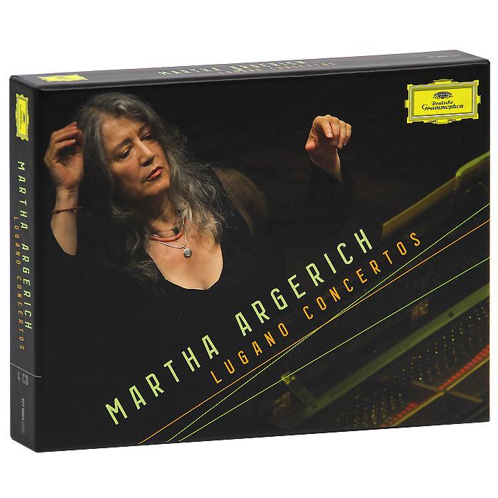 Martha Argerich. Lugano Concertos (4 CD) martha argerich