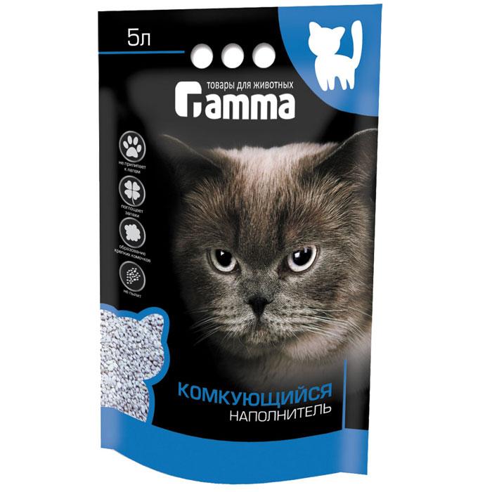 Наполнитель для кошачьего туалета Гамма, комкующийся, 5 лНг-20640Наполнитель для кошачьего туалета Гамма изготовлен по специальной технологии из натурального сырья. Мелкие гранулы активно поглощают влагу и запах, формируя крепкий комочек. Наполнитель обладает отличными антибактериальными свойствами, не вызывает аллергии, не пылит, не прилипает к лапам. Безопасен для здоровья животных и детей. Материал: бентонитовая глина. Размер гранул: 2-3 мм. Товар сертифицирован. Рекомендуем!
