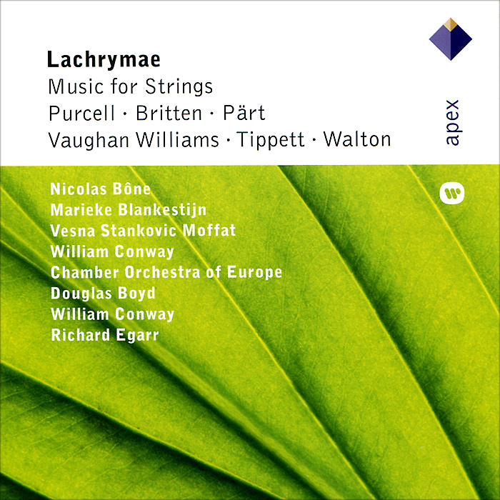 Николас Боне,The Chamber Orchestra Of Europe,Дуглас Бойд,Richard Egarr Lachrymae - Music For Strings estonian national symphony orchestra лаури вайнма ostrobothnian chamber orchestra марика ярви tallinn chamber orchestra eduard tubin music for strings concertino concerto for flute