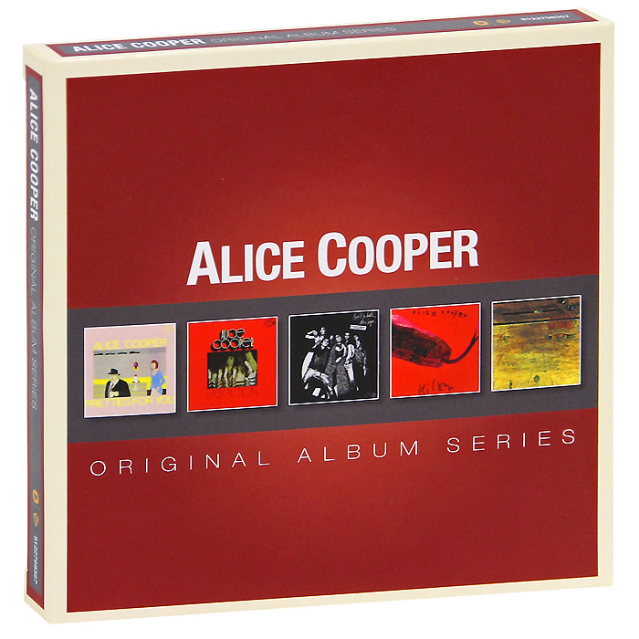 Элис Купер Alice Cooper. Original Album Series (5 CD) original airtac compact slide cylinder roller bearing hls series hls12x100s