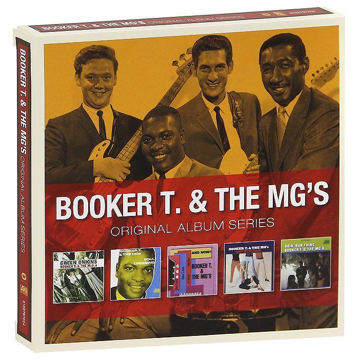 Booker T. & The MG's Booker T & The Mg's. Original Album Series (5 CD) booker