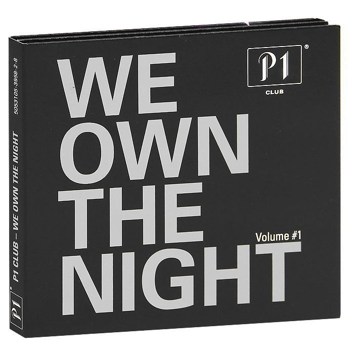 P1 Club. We Own The Night (2 CD) printio night club
