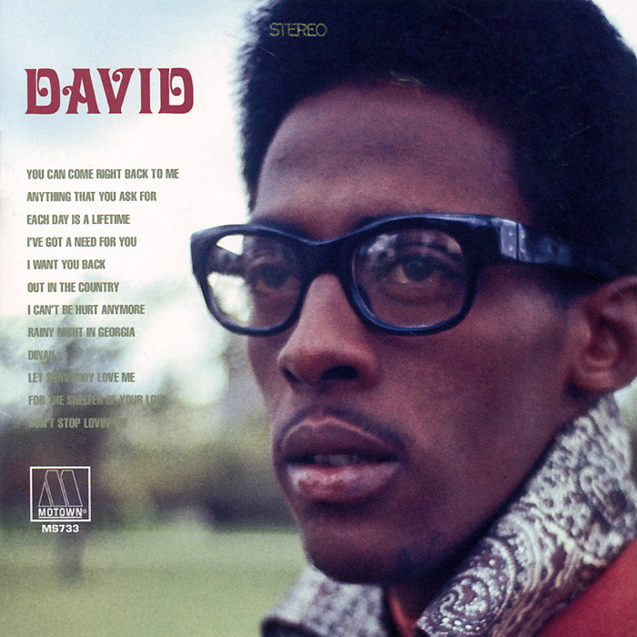 "Дэвид Руффин David Ruffin. ""David"" Unreleased LP & More"