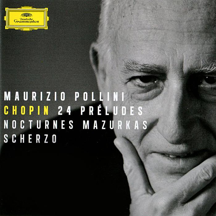 Маурицио Поллини Maurizio Pollini. Chopin. 24 Preludes. Nocturnes. Mazurkas. Scherzo
