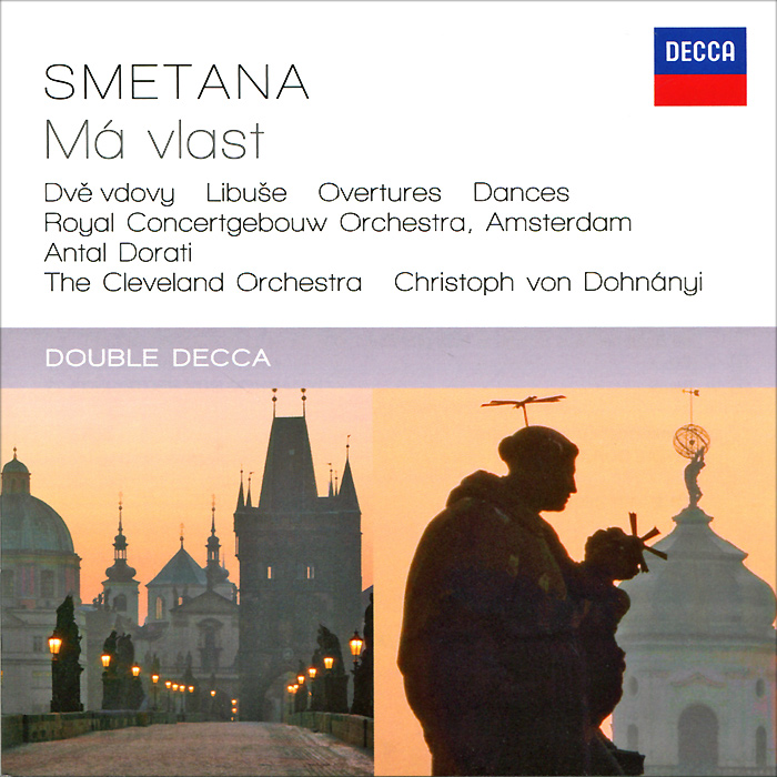 Антал Дорати,Concertgebouw Orchestra,Кристоф Фон Донани,The Cleveland Orchestra Antal Dorati, Concertgebouw Orchestra, Christoph Von Dohnanyi, The Cleveland Orchestra. Smetana. Ma Vlast. Opera Overtures & Dances (2 CD) the kings river band les bardes de baud the o brians irish orchestra azzurra orchestra zirp folk orchestra breton