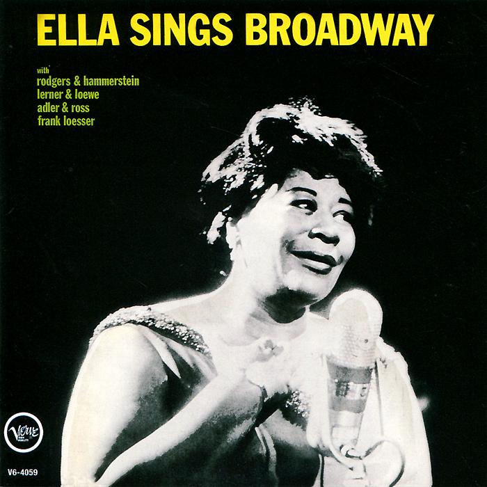 Элла Фитцжеральд Ella Fitzgerald. Ella Sings Broadway / Rhythm Is My Business сабо ella ella el023awebb89
