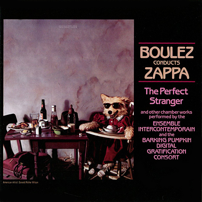Фрэнк Заппа Frank Zappa. Boulez Conducts Zappa: The Perfect Stranger цены