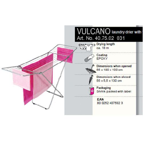 цена Сушилка для белья Vulcano, напольная, 18 м