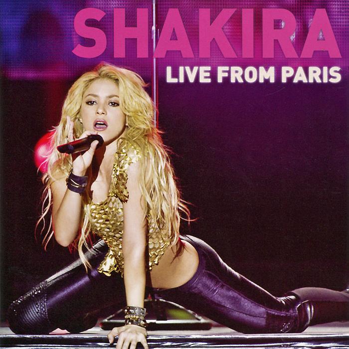 Шакира Shakira. Live From Paris (CD + DVD) цена