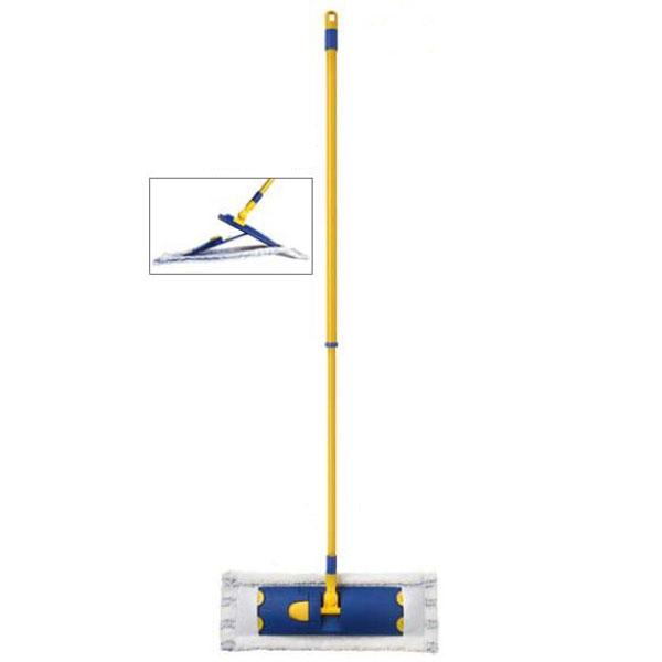 Швабра Flat Mop с телескопической ручкой цена