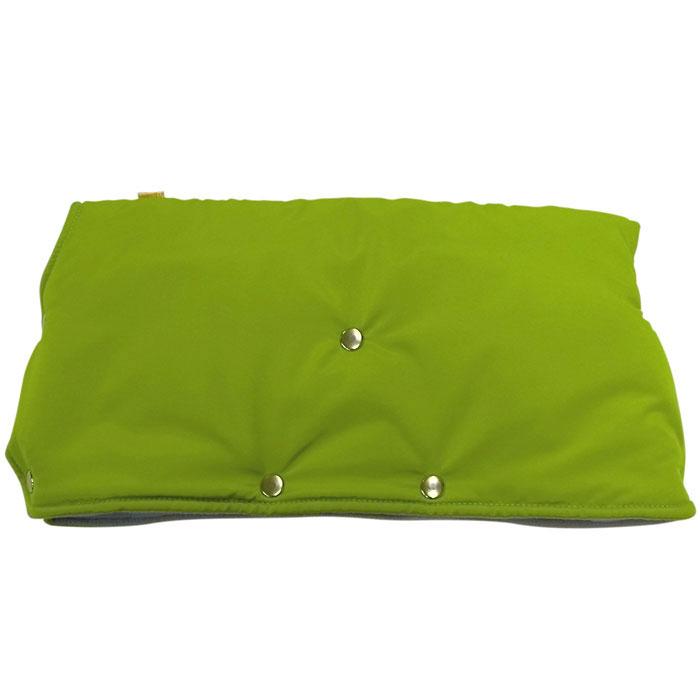 Муфта для рук на коляску Чудо-Чадо, флисовая, цвет: светло-зеленый. МКФ04-000 муфта для рук на коляску чудо чадо мкф18 000 флис хаки