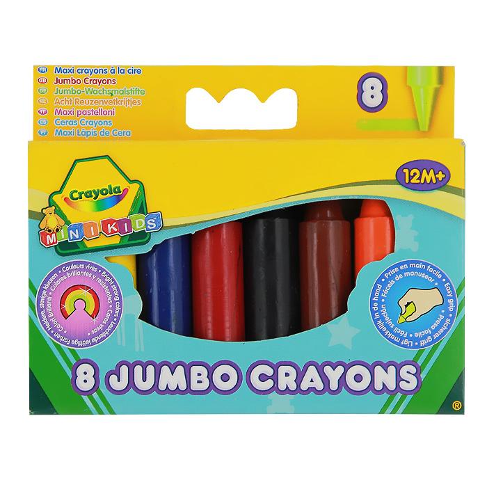Восковые мелки Crayola Для самых маленьких, 8 цветов crayola llc crayola oil pastels 28 color set set of 12