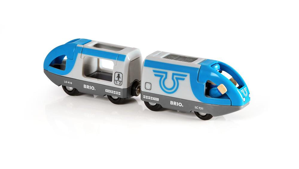 Игровой набор Brio Поезд-экспресс с машинистом поезд brio экспресс с машинистом с 3 х лет