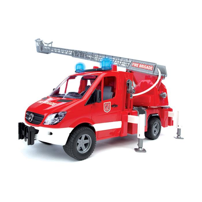 Bruder Пожарная машина с лестницей bruder пожарная машина mack с выдвижной лестницей и помпой bruder