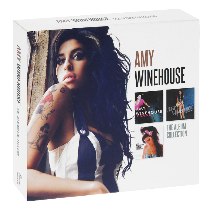 Эми Вайнхаус Amy Winehouse. The Album Collection (3 CD) cd billie holiday the centennial collection