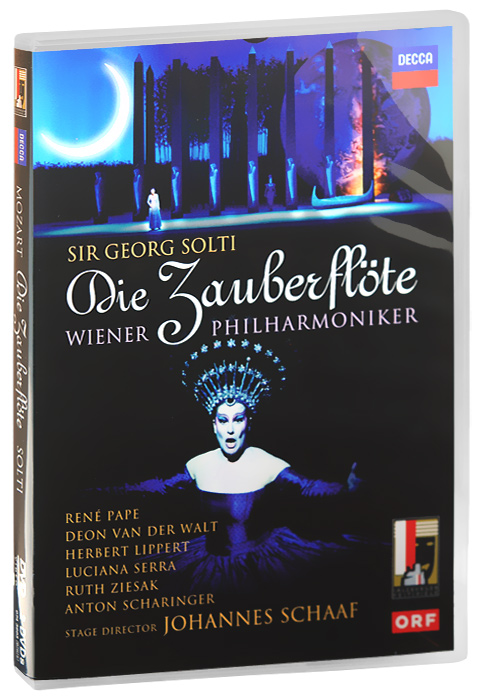 Sir Georg Solti, Mozart: Die Zauberflote (2 DVD) mozart wolfgang sawallisch die zauberflote