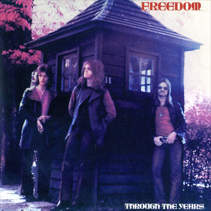 Freedom Freedom. Through The Years freedom freedom black on white lp