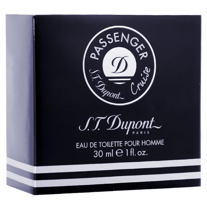 S.T. Dupont Туалетная вода Passenger Cruise Pour Homme, 30 мл s t dupont so dupont pour femme