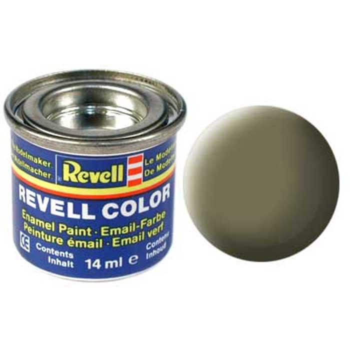 Revell Краска для моделей матовая №45 цвет светло-оливковый 14 мл revell challenger i