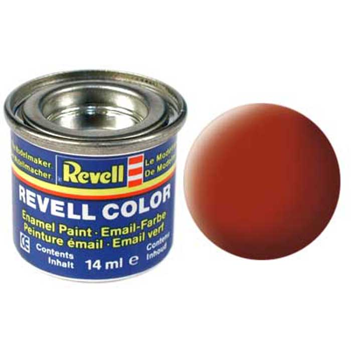 Revell Краска для моделей матовая №83 цвет ржавчина 14 мл revell набор космический шатл атлантис revell