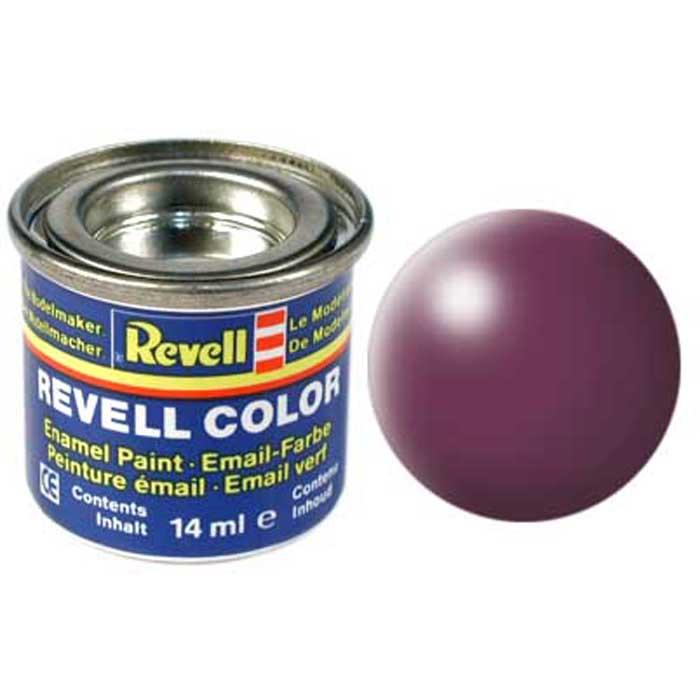 Revell Краска для моделей шелково-матовая №331 цвет пурпурно-красный 14 мл32331/РАЛ 3004Краска-эмаль Revell пурпурно-красного цвета используется для окрашивания сборных моделей Revell. Данная краска представляет собой синтетическую смоляную эмаль, которая не повреждает пластиковые поверхности сборных моделей. Все оттенки данной краски могут смешиваться друг с другом для получения дополнительных тонов. Краска упакована в экономичную банку, что позволяет экономично ее расходовать, а после использования банку можно закрыть крышкой, чтобы избежать высыхания. Характеристики: Объем краски: 14 мл. Цвет: пурпурно-красный.