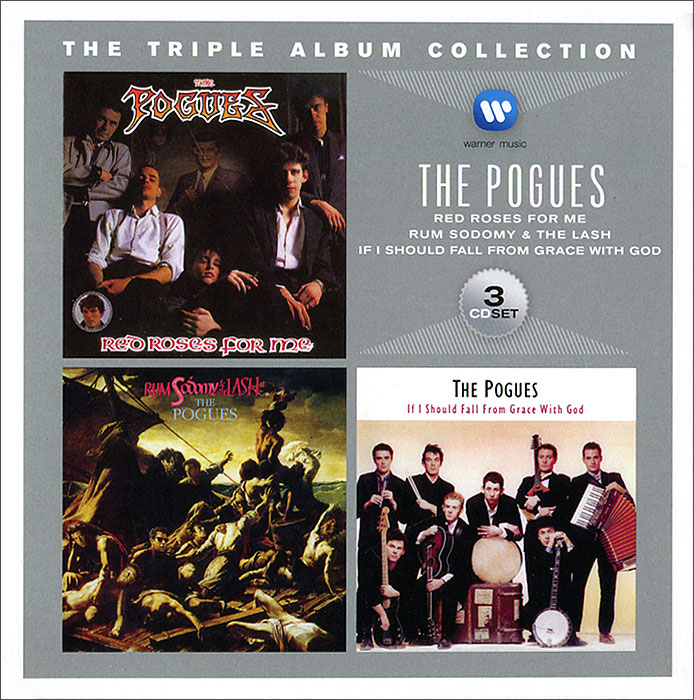 The Pogues Pogues. Triple Ablum Collection (3 CD) the pogues peace and love lp