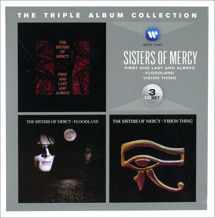 The Sisters Of Mercy Sisters Of Mercy. The Triple Album Collection (3 CD) festivals the collection 3 cd