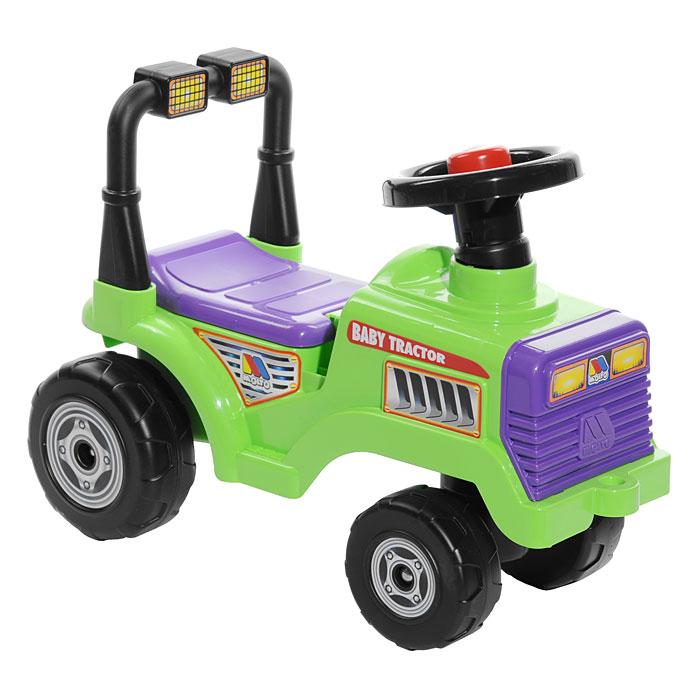 Детский трактор-каталка Митя, цвет в ассортименте каталка трактор с педалями turbo 52674
