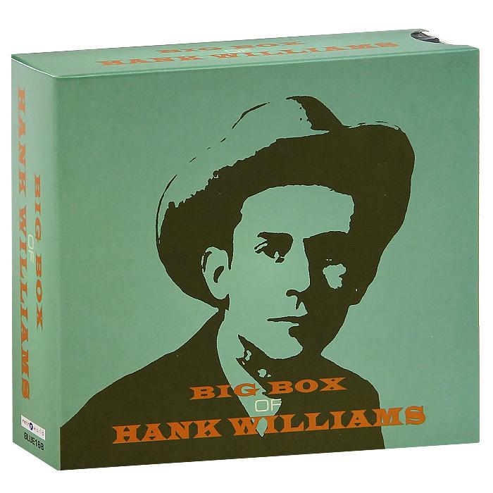 Хэнк Уильямс-старший Big Box Of Hank Williams (6 CD) цена и фото