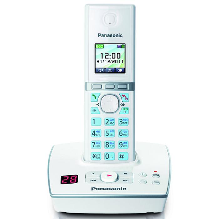 Радиотелефон с автоответчиком Panasonic KX-TG8061 RUW